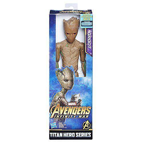MARVEL INFINITY WAR SERIE TITAN HERO Groot con TITAN HERO Power FX PORTA