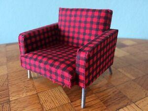 Sessel Bodo Hennig 70er  Puppenstube Puppenhaus 1:12 dollhouse armchair