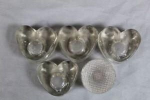 5-Kerzenhalter-4x-Herz-Form-1x-schlichtes-rund-Glas-Kerzenstaender-S209