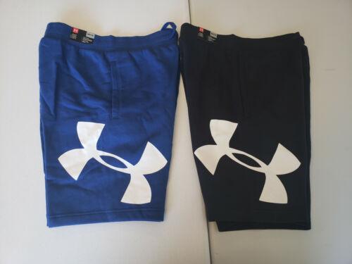 Under Armour Men/'s Rival Fleece Logo Shorts NWT 2020