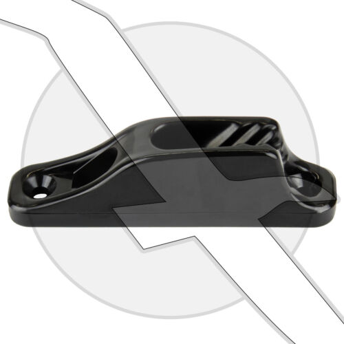 Clamcleat Rope Cleat Junior Black Nylon Boat Marine Clam Cleat
