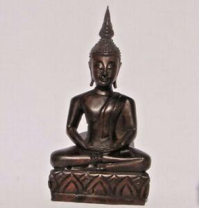 Thai-Wooden-Handcarved-Buddha-30cm-tall-from-Thailand-Brand-New-Fair-Trade