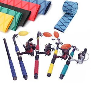 Non Slip Heat Shrink Wrap Tubing Grip Fishing Rod Racket Handle Sleeve 18mm