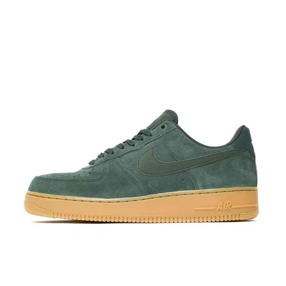 check out 93d5b f5c74 Nike Air Force 1 '07 LV8 Suede Outdoor Green AA1117-300 Men's Shoes Multi  Size