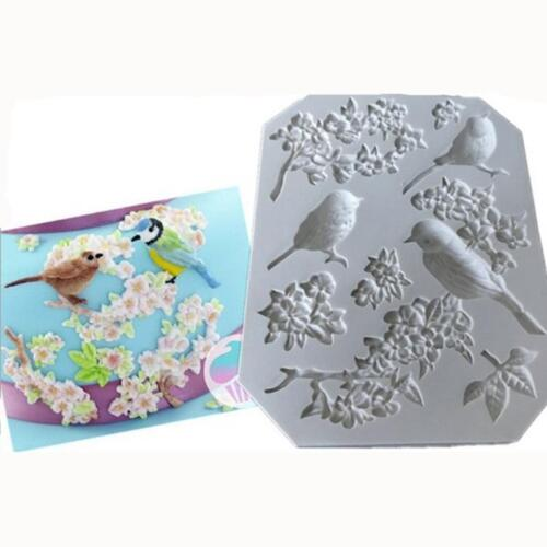 Sunflower Silicone Sugarcraft Mould Fondant Cake Topper Modelling Tools Mold IT