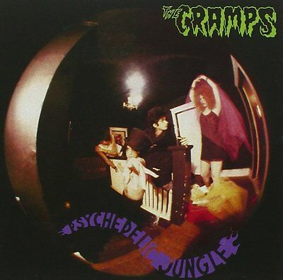 The Cramps Psychedelic Jungle CD NEW SEALED 1998 Psychobilly