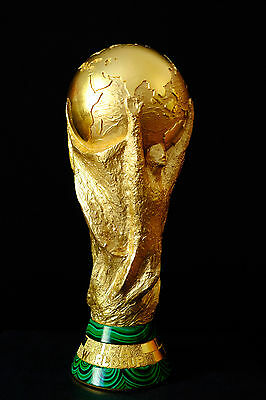 FIFA World Cup Trophy - Brasil 2014 - Russia 2018 - 1:1 - Incredible!!