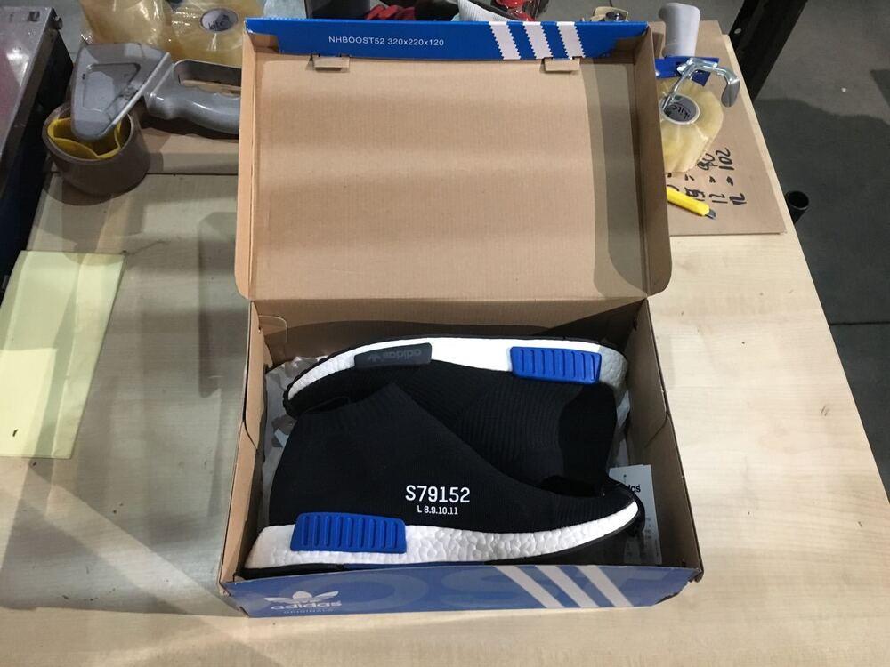"100% Vrai Adidas 2016 Nmd Cs1 Pk ""city Sock"" S79152 Sneaker Noir Uk 9 Eu 43 1/3 Deadstock"