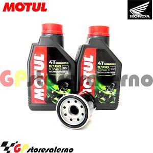 TAGLIANDO-OLIO-FILTRO-MOTUL-5100-10W40-HONDA-250-NSS-FORZA-2010