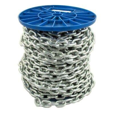 Strong Heavy Duty Black Plated Steel Chain Side Welded Security Links Gate Lock