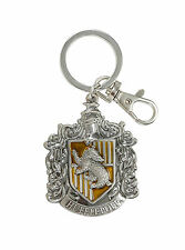 Harry Potter Hufflepuff House Crest Badger Metal Keychain Key Ring Key Chain NEW