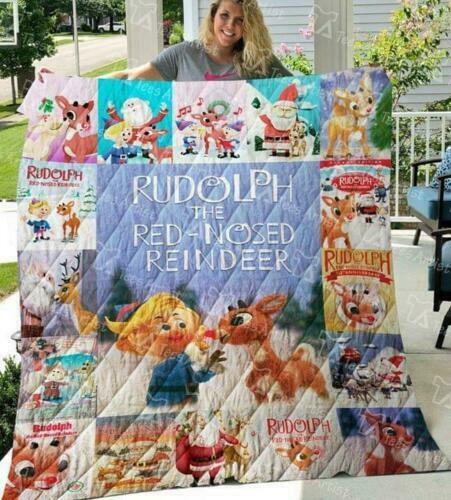 """CLARICE FROM RUDOLPH REINDEER CHRISTMAS SUPER SOFT PLUSH THROW BLANKET 40/""""X 50/"""""""