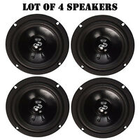 Lot Of (4) Pyle Pdmr5 Car Dj/home Mid Bass Mid Range 400w, 5 Speakers Drivers on sale