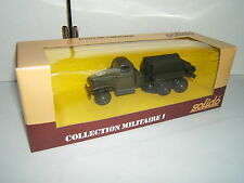 SOLIDO COLLECTION MILITAIRE : GMC Compresseur n° 6044 Lot 5