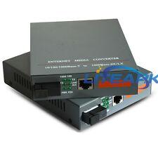 Fiber Optical Media Converter Single port 20KM HTB-GS-03/AB 1000Mbps 1Pair