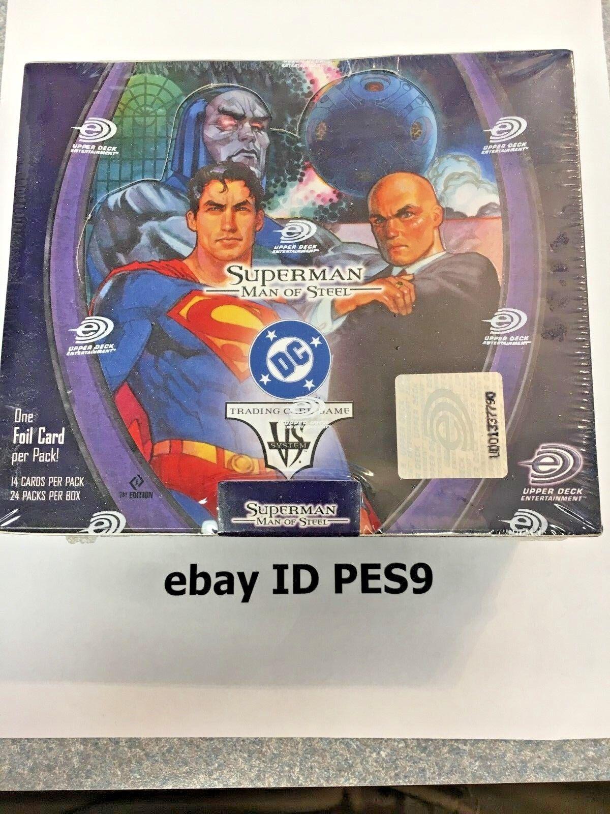 Vs - system - fabrik versiegelt englisch superman - box