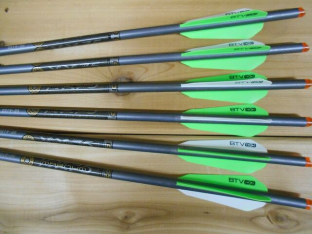 Easton Gamegetter arrows 1 Dz with feathers