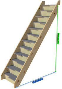 Image Is Loading Paddle Space Saver Loft Staircase Paddle Stair