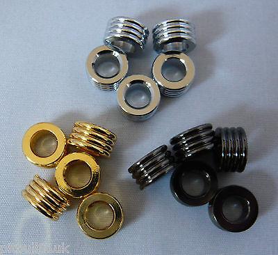 Woodturning- Pen Centrebands - Streamline/Slimline - Gold/Chrome/Gunmetal/Copper