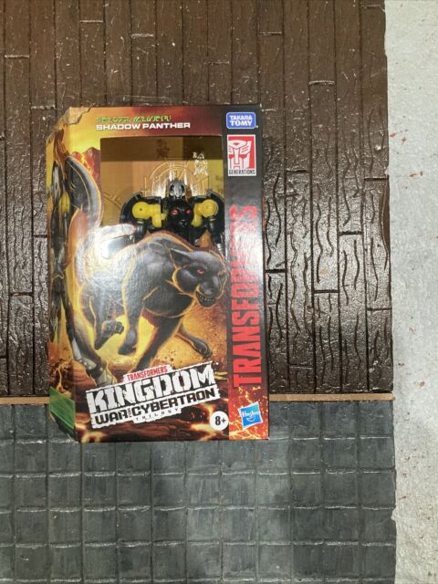Transformers War For Cybertron Kingdom Deluxe Class - Shadow Panther IN STOCK