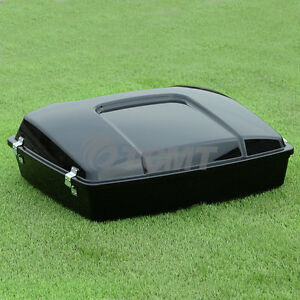5-5-034-Razor-Pack-Trunk-W-Latches-Fit-For-Harley-Tour-Pak-Road-Electra-Glide-97-13