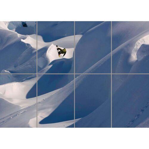 "Travis Rice Snowboarding Sport Winter Star Wall Art Panel Poster Print 47X33/"""