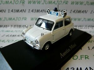 PUK2G-voiture-1-43-CORGI-ATLAS-POLICE-CARS-Austin-Mini-Royal-Ulster