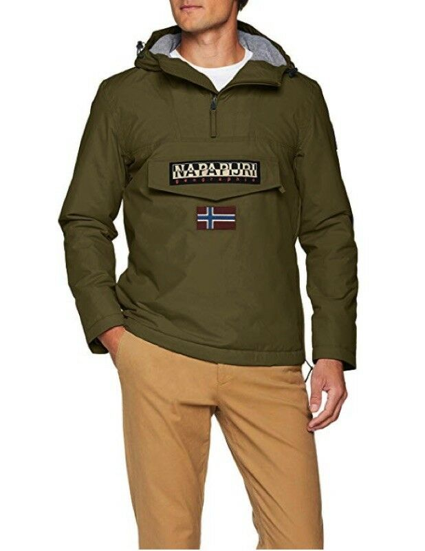 Napapijri Jacket Rainforest Winter 1 Green N0ygnj-green