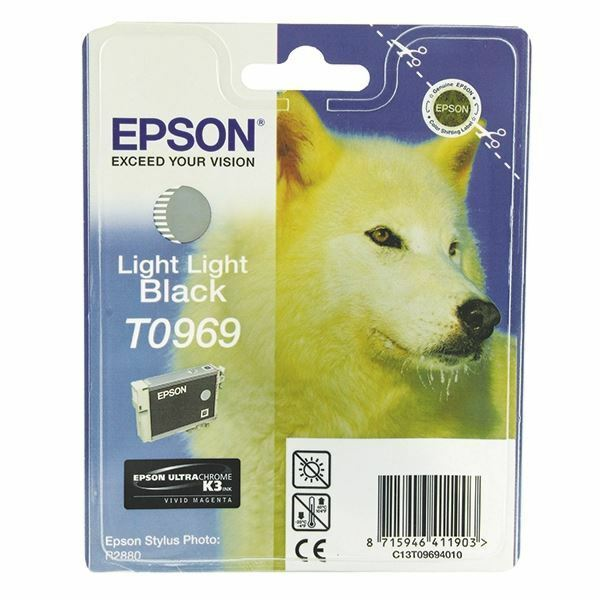 Epson T0969 Light Light Black Ink Cartridge C13T09694010 / T0969 [EP09694]