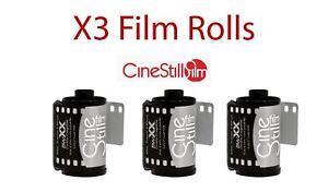 FRESH-X3-roll-Cinestill-BWXX-DOUBLE-X-BLACK-amp-WHITE-FILM-35MM-135-36EXP-ISO-250