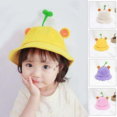 Cute Baby Cartoon Grass Hat Boy Girl Bucket cap kids Beach Sun Hat Fisherman Hat