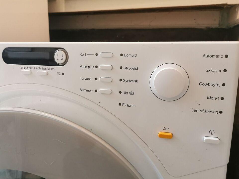 Miele vaskemaskine, Novotronic W1613, frontbetjent