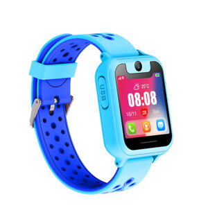 Details about Kids LBS Tracker Smart Child Watch Anti-lost SOS Call w/  Camera For Android/iOS