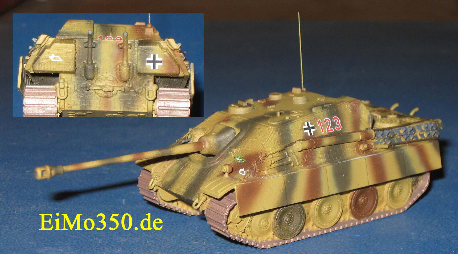 Jagdpanther Sd.Kfz 173 Ausf. früh sPzJgAbt 654  1 87 H0 Minitank WKII Trident  | Verkauf