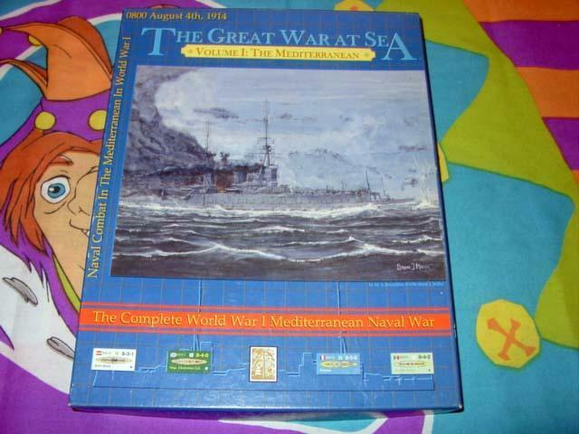 Avalanche Press - GREAT WAR at SEA I - The MEDITERRANEAN Sea (UNPUNCHED)