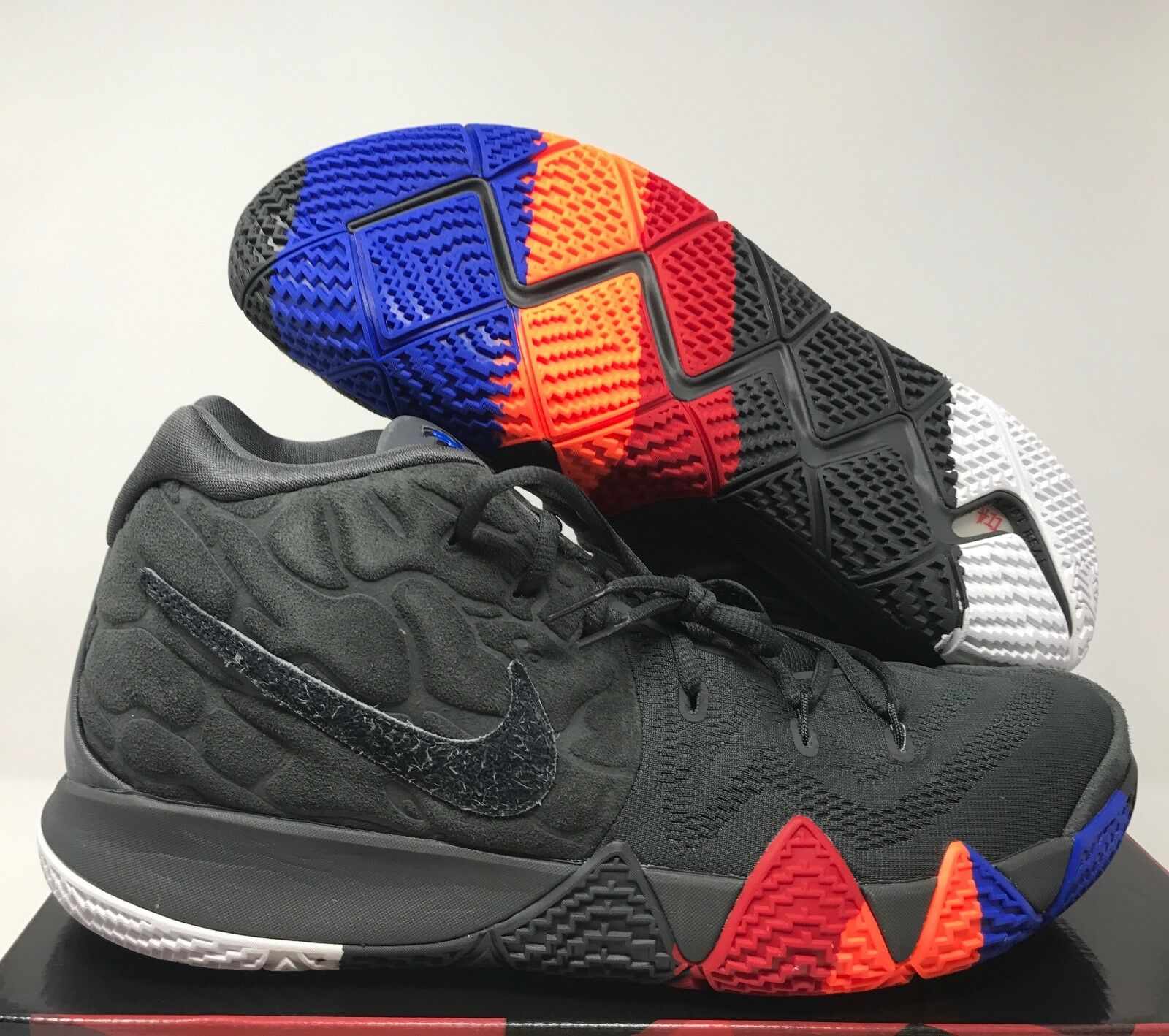 NIKE KYRIE 4 YEAR OF THE MONKEY ANTHRACITE-BLACK SZ 16 [943806-011]