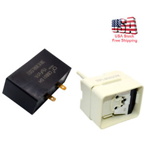 Refrigerator-Compressor-Start-Relay-amp-Capacitor-Fits-Whirlpool-Maytag-W10613606