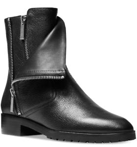 NEW Michael Kors Women's Andi Flat Bootie Boots Size 11 M Black $245