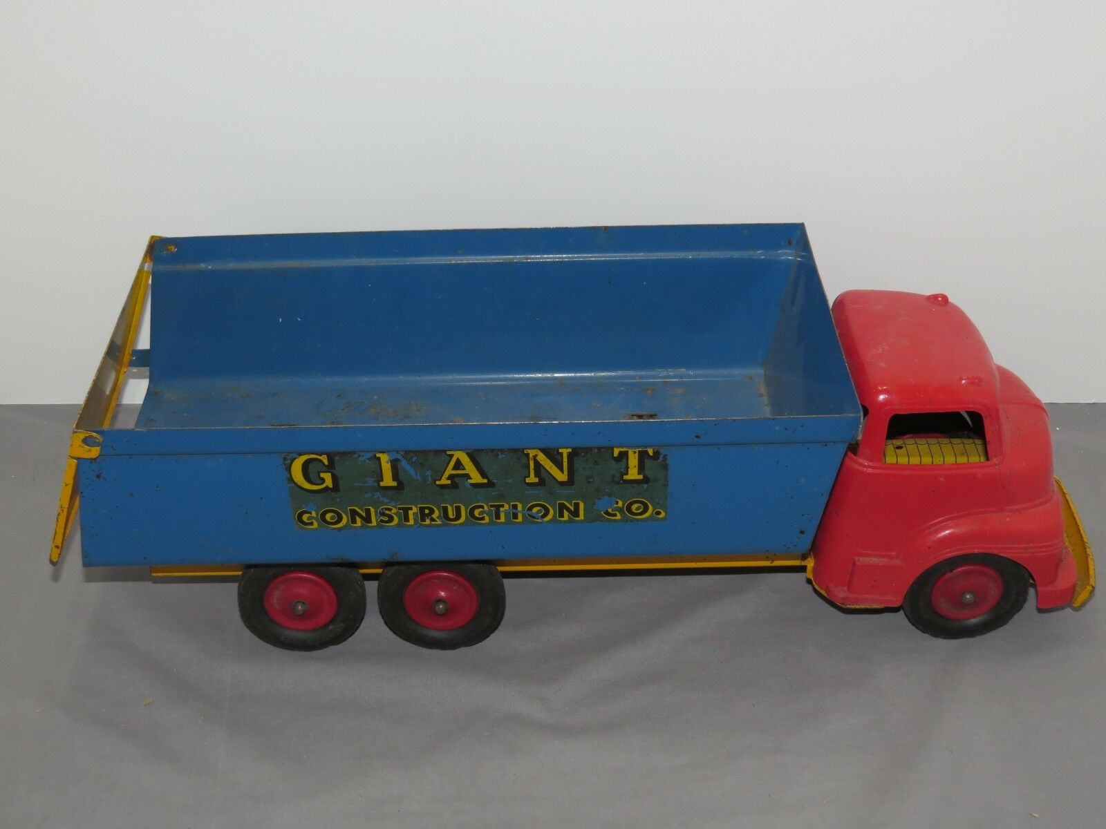 Vintage Wyandotte líneas gigante de construcción camión 1940's-1950 Original Rara
