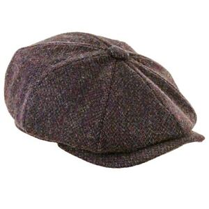 Scott-Newsboy-Harris-Tweed-8pc-Cap