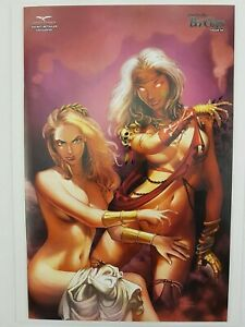 Zenescope-Grimm-Fairy-Tales-Bad-Girls-4C-Secret-Retailer-Exclusive-Comic-Book-NM