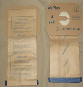 Electrolux-Aerus-Style-C-Vacuum-Bag-Canister-Vac-Type-Tank-Multi-Filter-4-ply