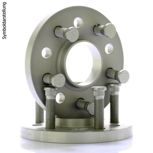 5 5x120 30//40mm //// 2x15mm 2x20mm H/&r Dr-ABE Espaceurs distance disque ø72