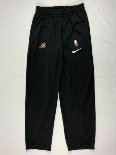 Dark Gray Dri-Fit Athletic Pants Multiple Sizes NEW Nike Los Angeles Lakers