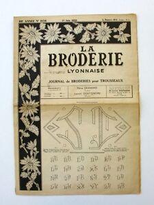 La Broderie Lyonnaise N°1156 - 1958 - Broderies Pour Trousseaux - Alphabet - Rcsvh6r5-07155432-771403963