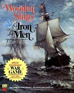 Avalon-Hill-Wooden-Ships-amp-Iron-Men-Game-PDF-Reference-Disc-Free-P-amp-P
