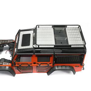 Metal-Portaequipajes-Anti-Skid-Placa-Portador-Para-1-10-TRAXXAS-TRX4-defender-RC-Coche