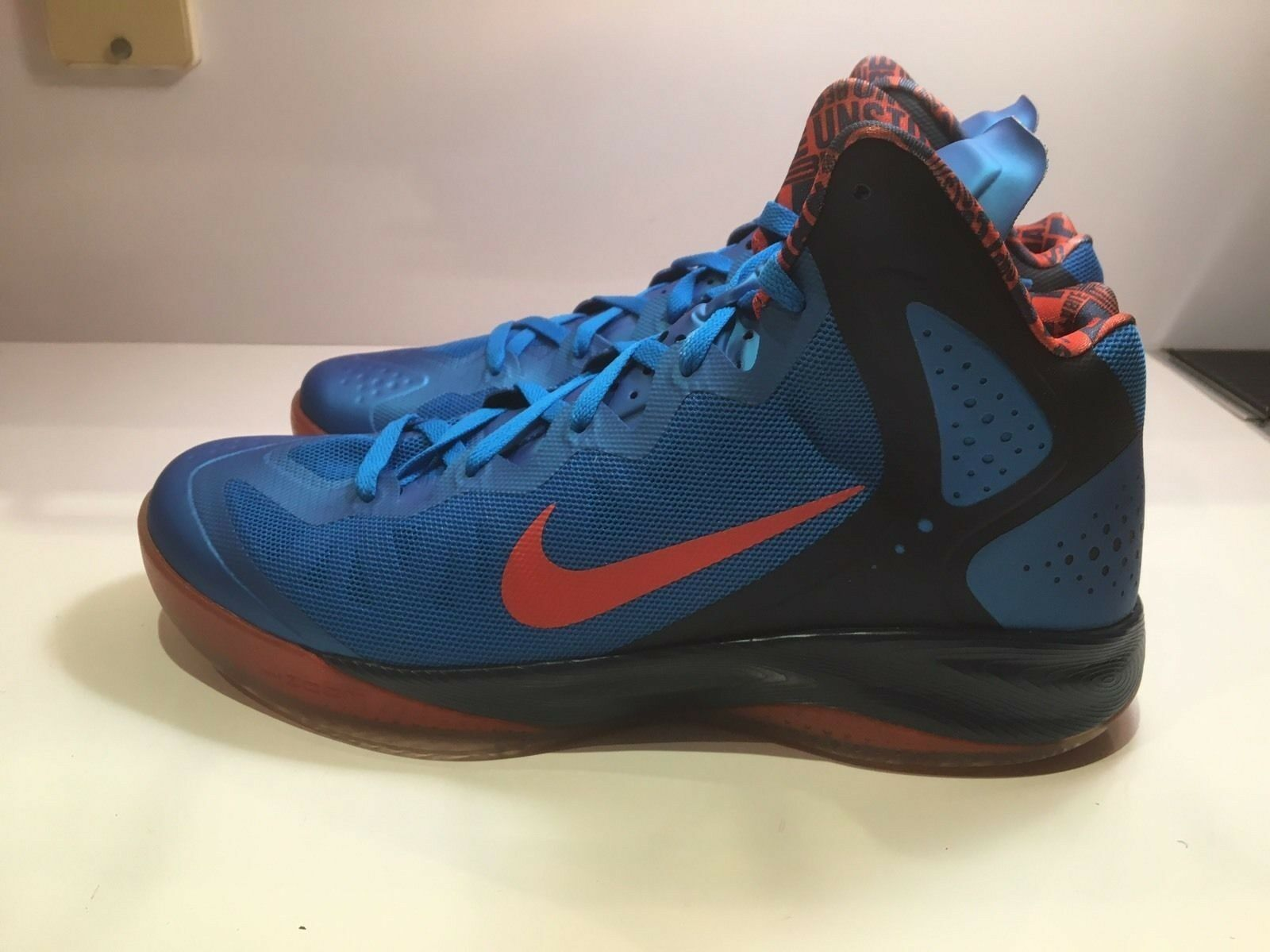 NIKE ZOOM HYPERENFORCER PE  OKC RUSSELL WESTBROOK  487655-402 CHOOSE YOUR SIZE