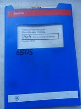 Werkstattbuch Reparaturleitfaden VW New Beetle Karosserie Eigendiagnose #6505