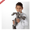 miniatura 22 - IKEA-PELUCHE-PANDA-SQUALO-CANE-ANIMALI-Natalizi-per-Bambini-Giocattolo-Peluche-Peluche